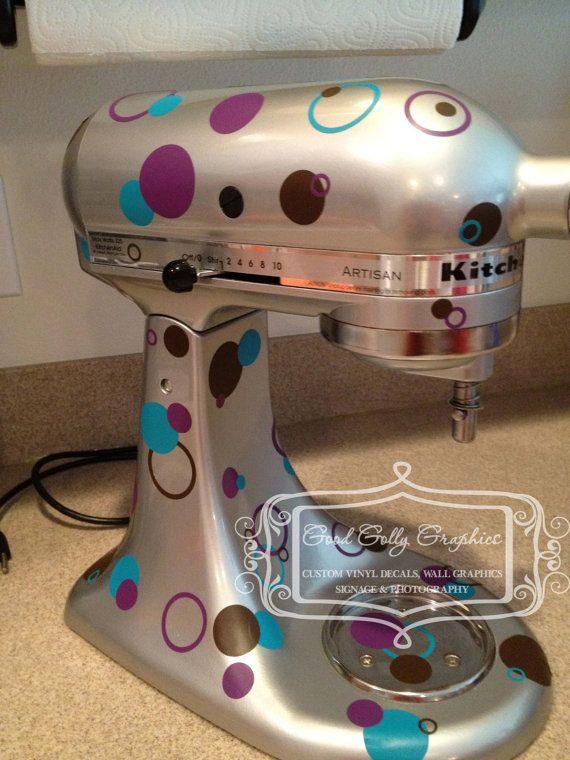 Kitchen Mixer Vinyl Decals ~ Images about kitchen aid mixers specials on