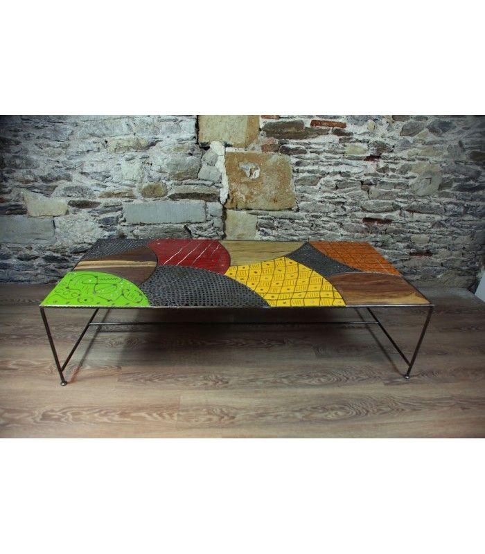 table basse africaine (aprés)