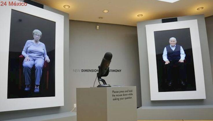 """Museo ofrece """"entrevistas"""" con sobrevivientes del Holocausto"""