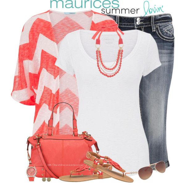 maurices Contest: Summer Lovin' by stay-at-home-mom on Polyvore featuring polyvore fashion style maurices chevron summerstyle Maurices summer2015