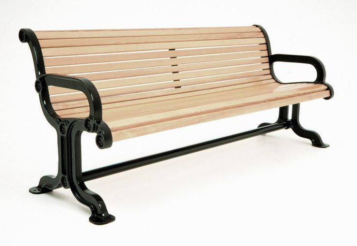 awesome bench with armrests
