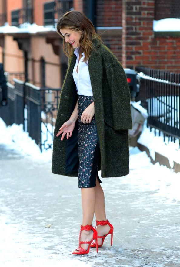 12 Times Celebrities Forgot It Was Winter In NYC  #InStyle