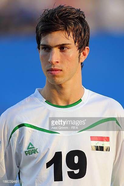 Mustafa Mohammed of Iraq during the FIFA U17 World Cup UAE 2013 Group F match between Nigeria and Iraq at Al Rashid Stadium on October 25 2013 in...