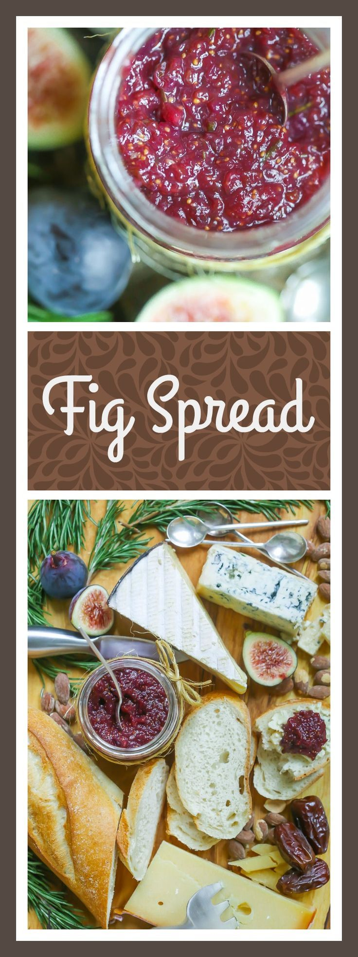 Fig Spread Is The Perfect Accompaniment To Cheese, Crackers Or Even Better,  Slathered On