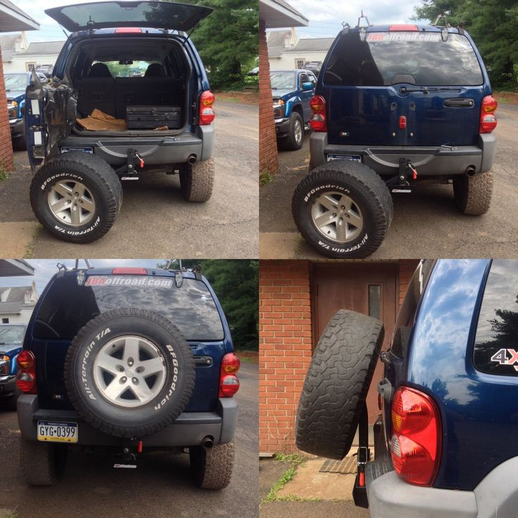 spare mount tire over size jbaSpare Tire Mount JBA