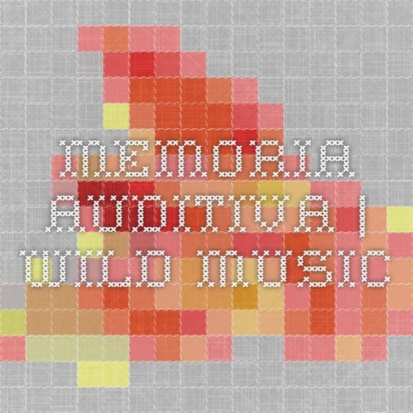 Memoria Auditiva | Wild Music