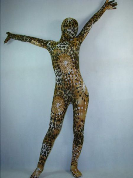Lycra Full Body Leopard Animal Zentai