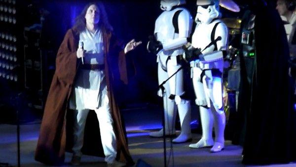 Weird Al performs at the Alameda County Fair