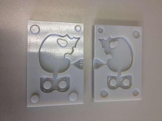 Injection Molding from a 3D printer