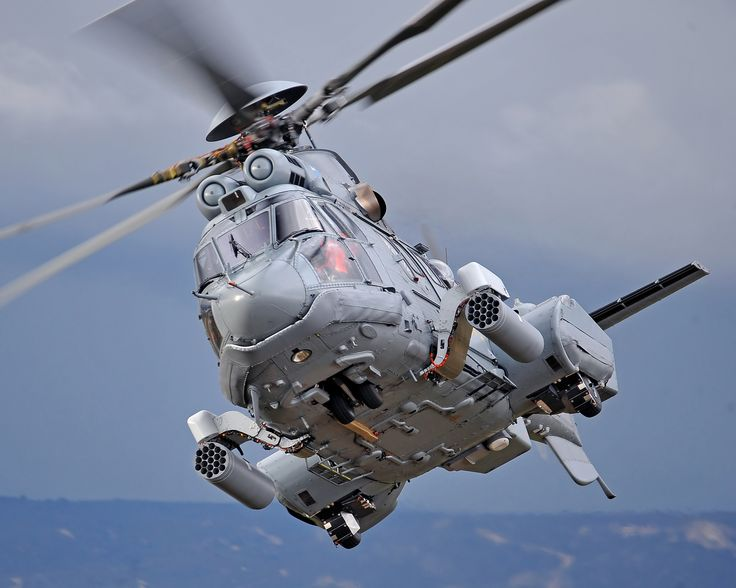 EC725. Photo by Anthony Pecchi, courtesy Airbus Helicopters