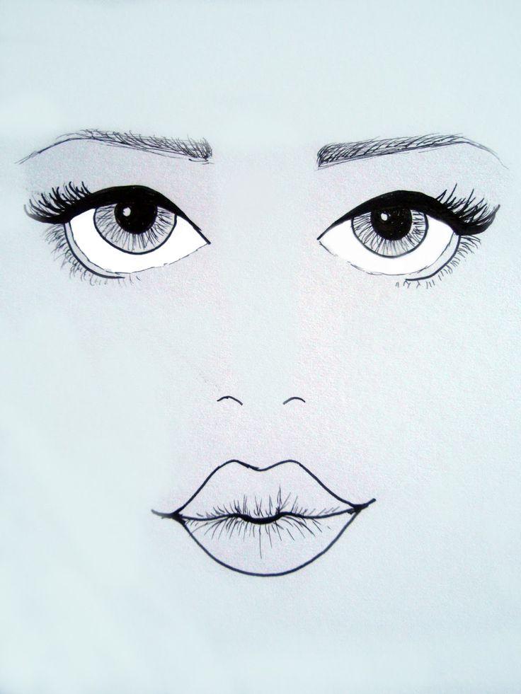 делать картинки карандашом губы глаза в глаза может включать только
