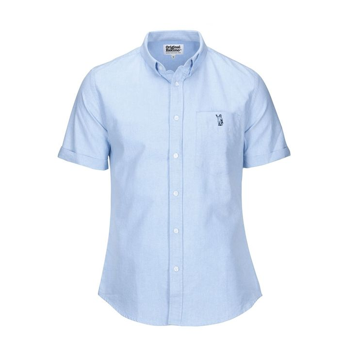OriginalEskimo Light Blue Short Sleeve Shirt