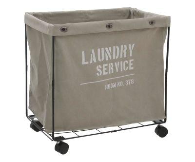 Aufbewahrungskorb Laundry auf Rollen
