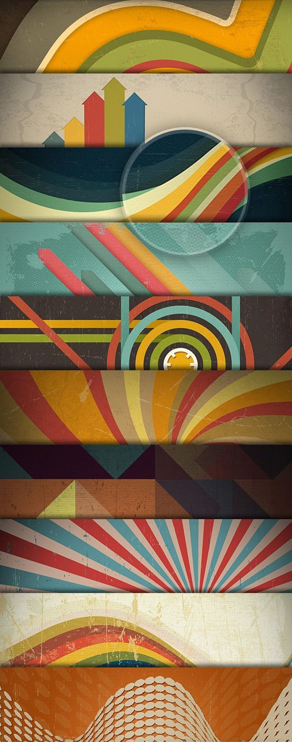 Free PSD Retro Backgrounds #freepsdfiles #freepsdgraphics #freepsdmockups #freebies