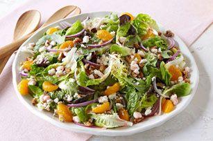 Salade de fruits et de féta étonnante