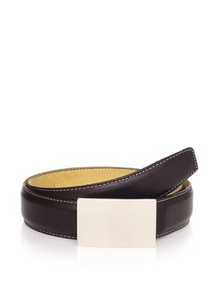 59% OFF Joseph Abboud Men's Plaque Belt (Black)