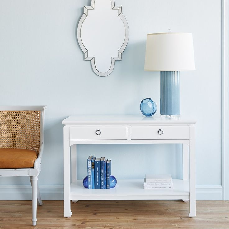 Harlow Console Table, White   Bungalow 5