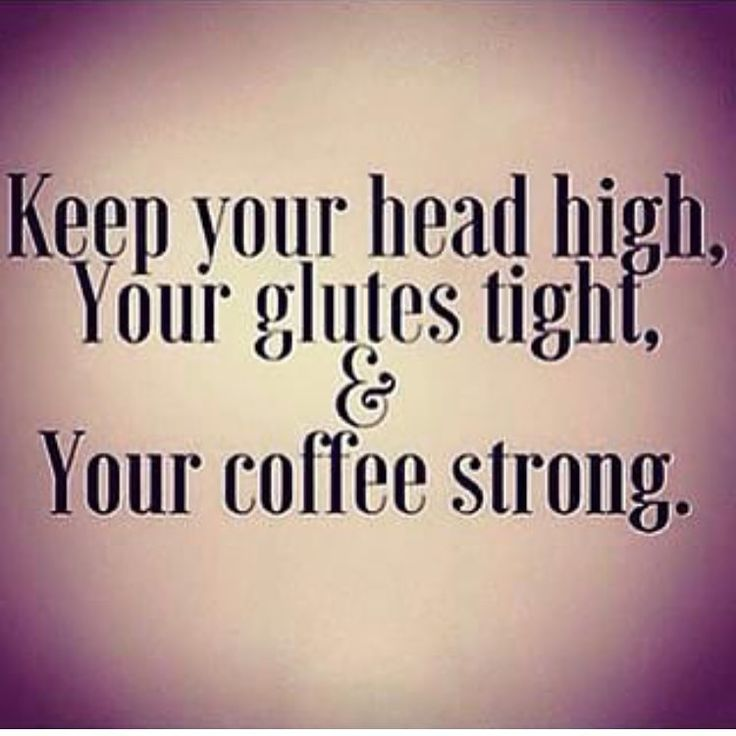 Always strong coffee