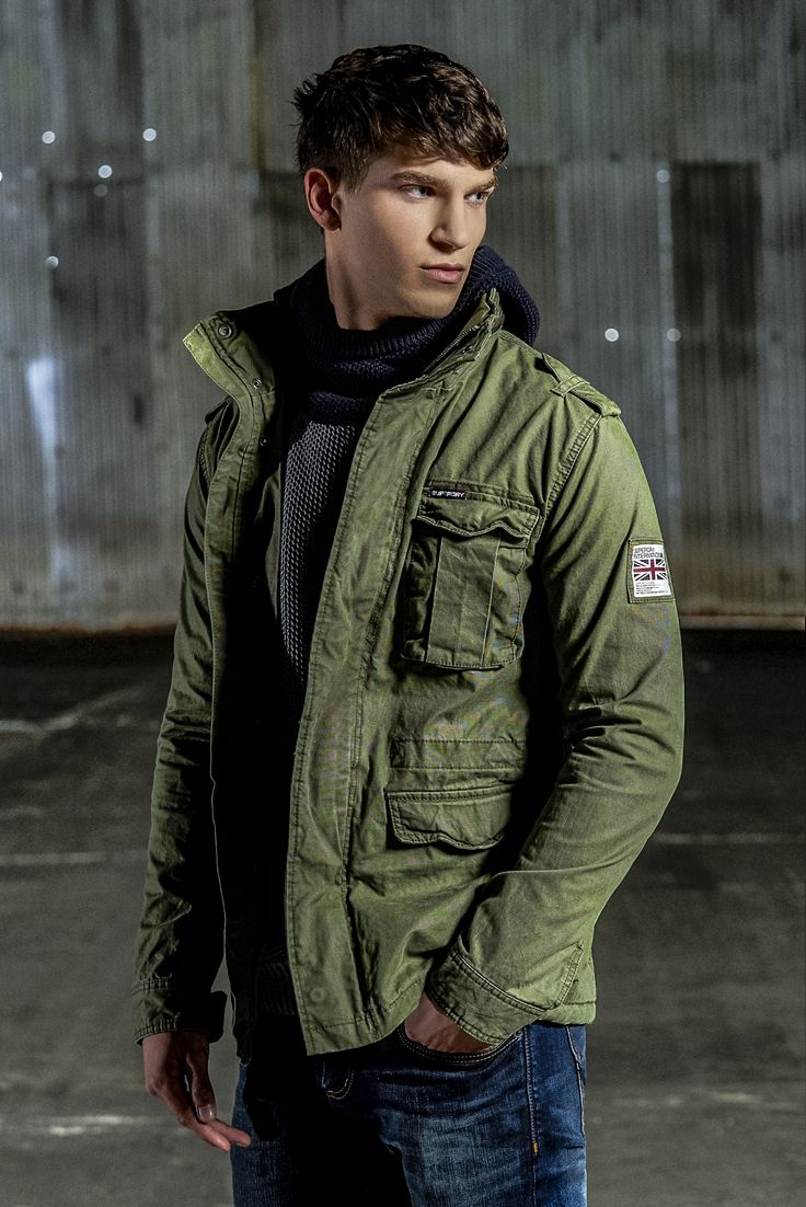 Conquer the chill with our Rookie Field Jacket. With precision cut and patterns, this coat is top rank.
