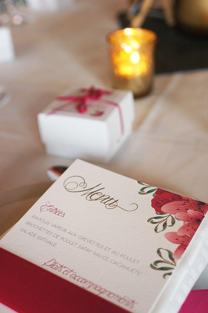 Mariage Romantique Floral - Design Dessine-moi une etoile