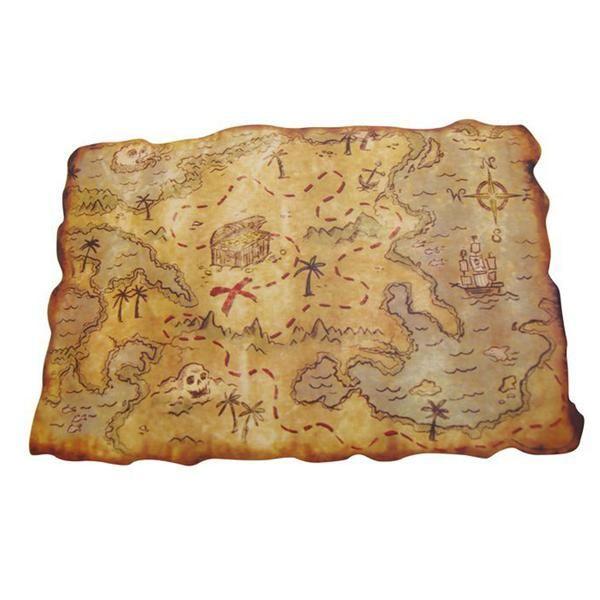 Mapa Tesoro Pirata                                                                                                                                                                                 Más