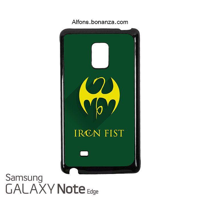 Iron Fist Superhero Samsung Galaxy Note EDGE Case