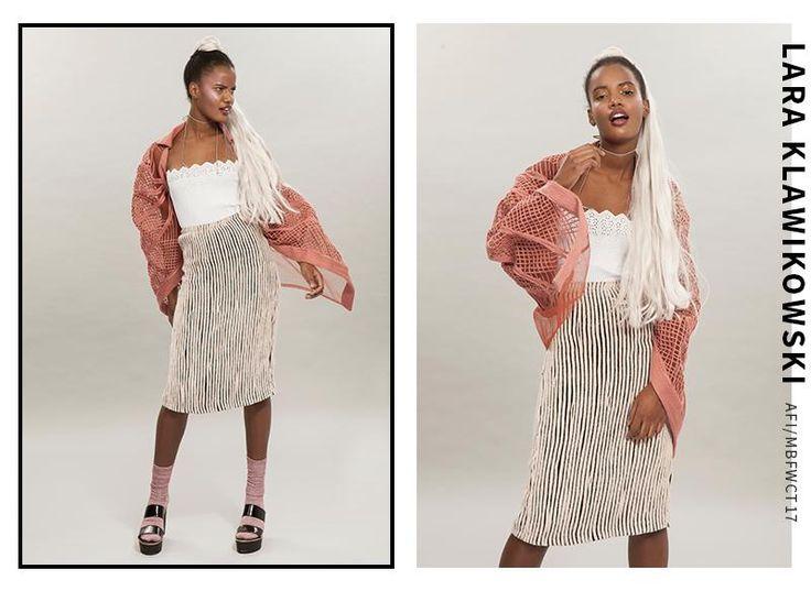 LARA KLAWIKOWSKI - Mercedes-Benz Fashion Week Cape Town