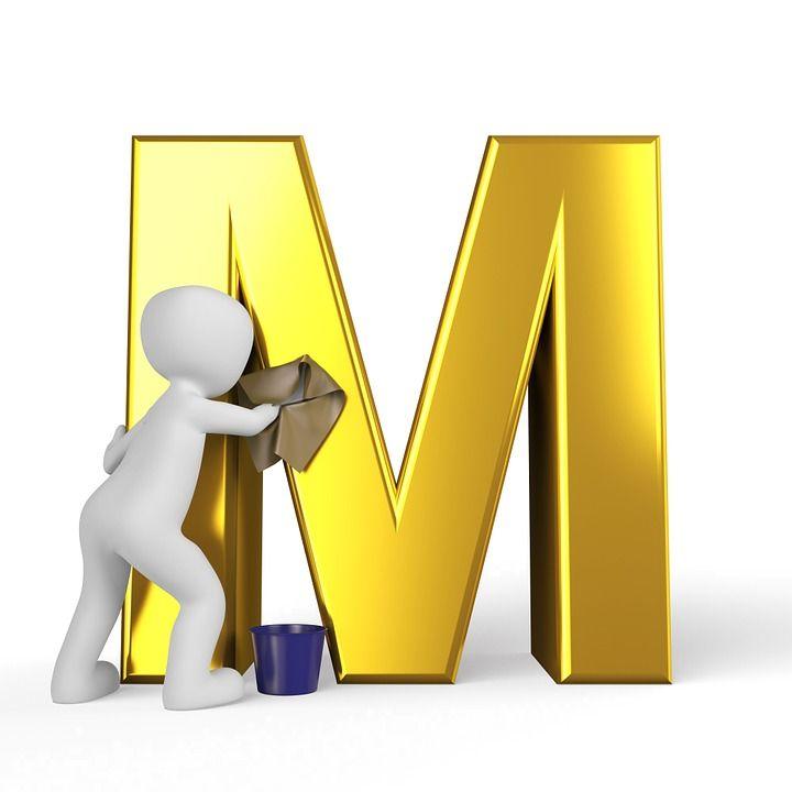M, Carta, Orden Alfabético, Por Orden Alfabético, Abc