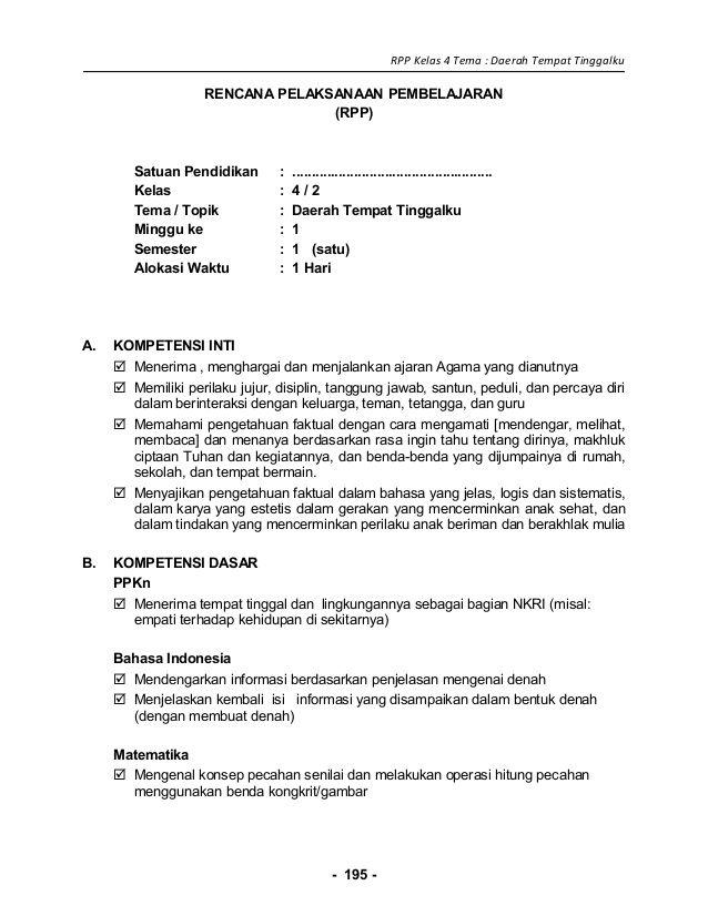 Rpp K13 Kelas 4 : kelas, Image, Result, Kelas, Percaya, Diri,, Belajar,, Agama