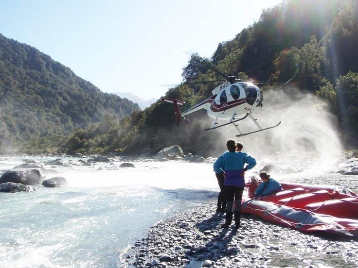 Advanced Heli White Water Rafting, Perth River - Franz Josef