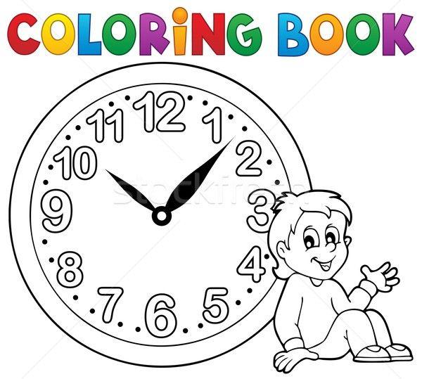 Kartinki Po Zaprosu Imagini Cu Ceas De Colorat Coloring Books Color Clock