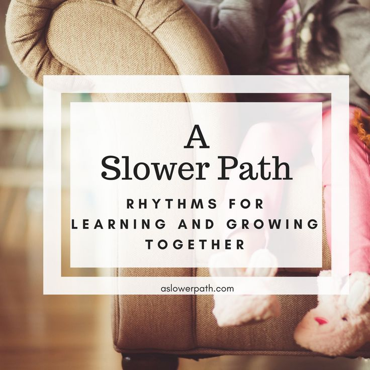Not only have we taken away playtime, we've also taken away family time. Is there any hope of reclaiming either? I believe there is. However, it means taking a slower path, a more intentional path, with our children. It means creating rhythms in our lives that anchor and center our families. #homeschool #homelearning #preschoollearning #unschooling #preschoolunschool #familyrhythms