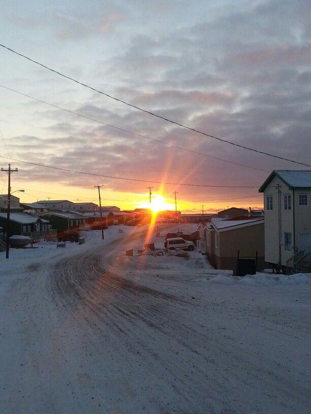 Sun rise at 8:35