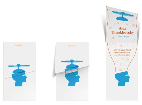 40+ New Cool Business Cards To Inspire You | Design Inspiration