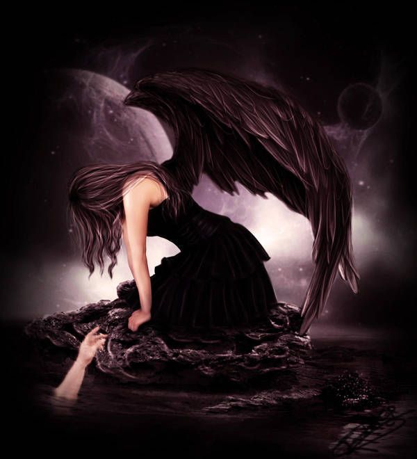 Красивые картинки падший ангел