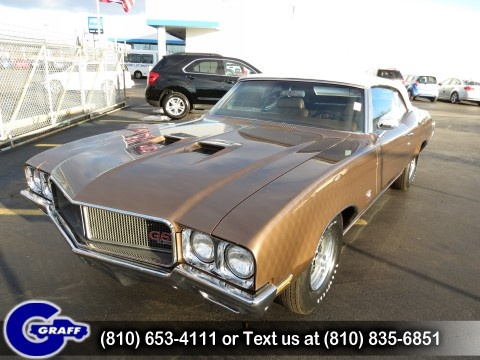 1970 Buick Grand Sport The car my dad was driving when he met my mom but his was Red.