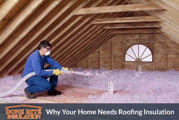 Why Your Home Needs Roofing Insulation Attic Insulation Blown