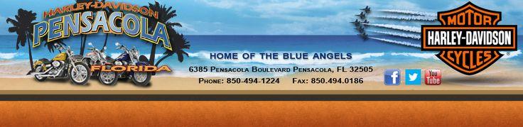 Florida, Harley-Davidson, motorcycle, dealer, Harley-Davidson of Pensacola Inc.