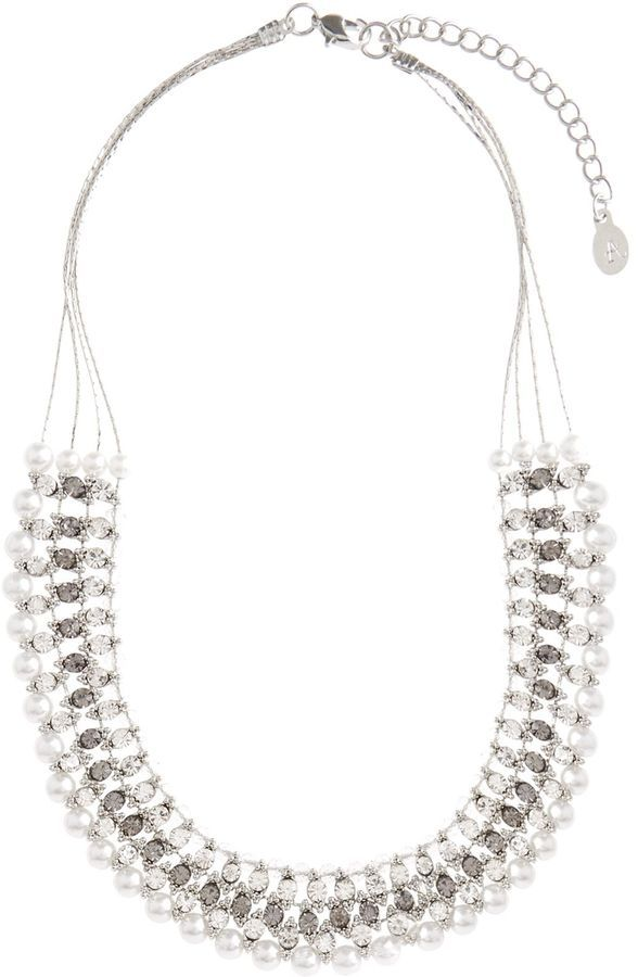 Silver Statement Necklace  #Fashion #Style #Styleblogger #Ad
