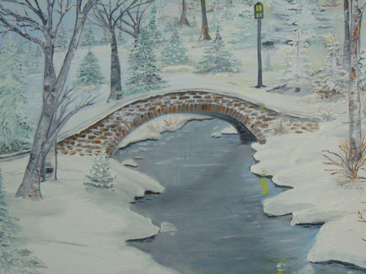 my winter painting