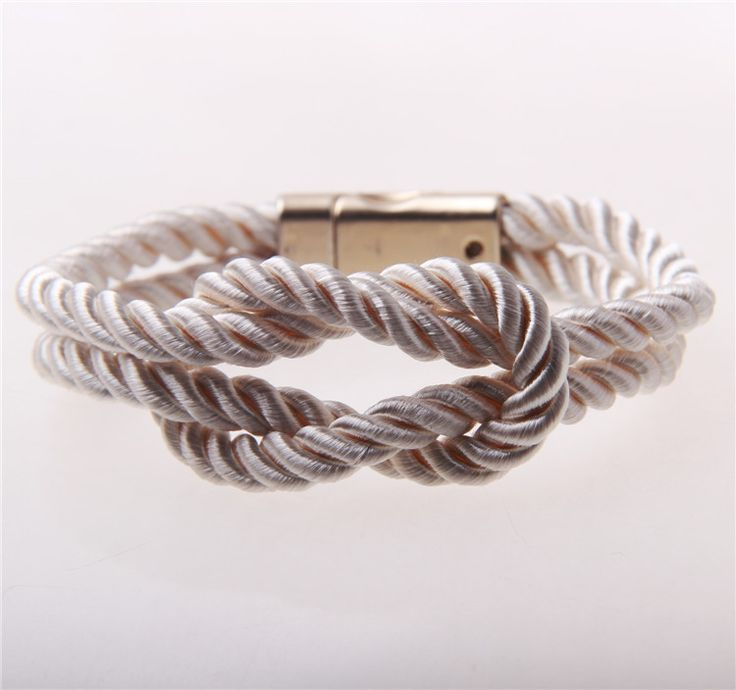 Bridesmaid Gift- Infinity Rope Knot Bracelet