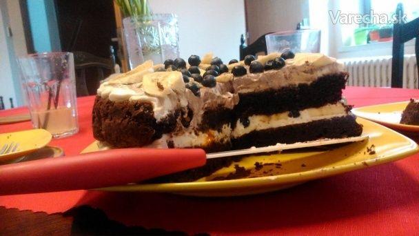 Brownies naked cake