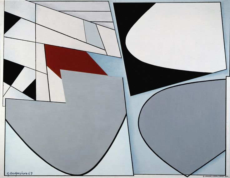 Augustson, Göran - 1967, Limited Space E. Acrylic on canvas. 116,50 x 150,50 cm. Finnish National Gallery.