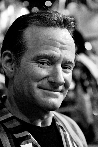 Robin Williams - you made so many laugh then in the end you made so many cry