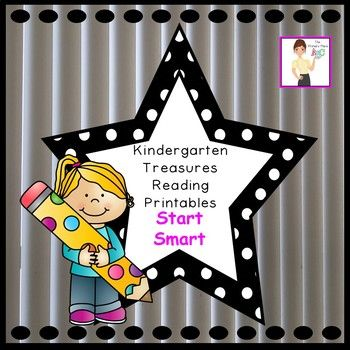 The Kindergarten Treasures Reading Start Smart Printables Packet was created by The Primary Place. There are 71 pages in this PDF file. This package was designed for the 2011 Treasures Edition. If you teach another edition, please be aware that some of the stories or skills may different or altered.