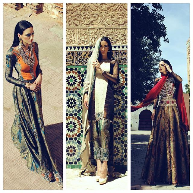 #Throwback #Thursday #Marrakech #Campaign #Morocco #featuring #faikakarim #designercollection #innayacouture #bashymua #model #nadia #shotbycontent #photography #arabian #pakistani #indian #fashion #love