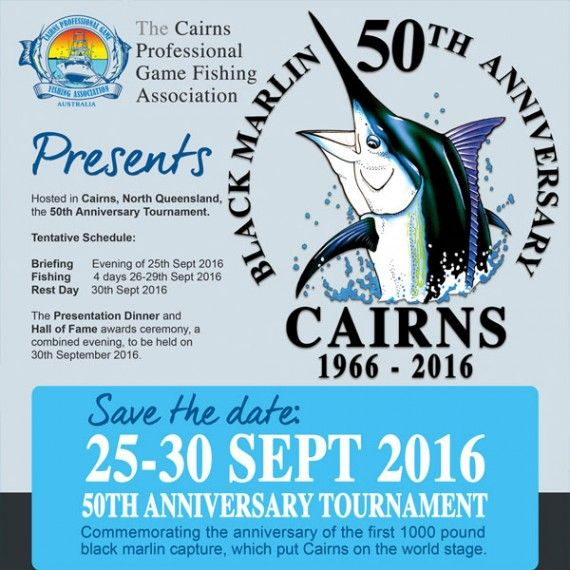 50th Anniversary Tournament - Save the date!