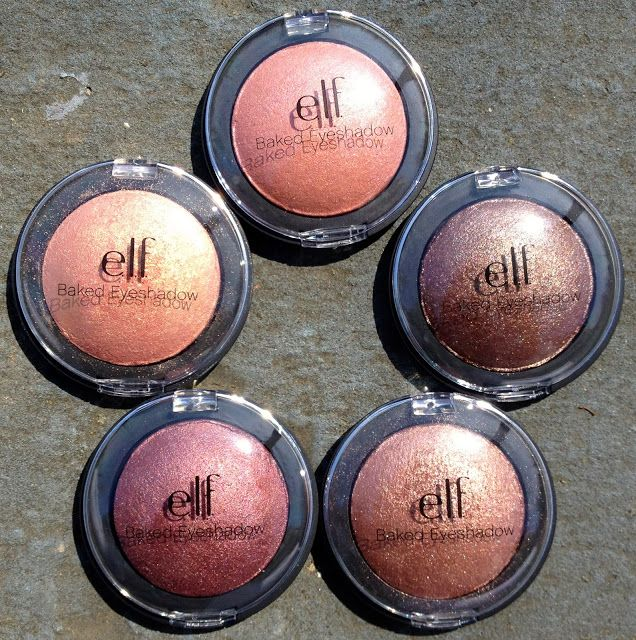 e.l.f. Baked Eyeshadow. I have Enchanted and now I want them all! Might even get the palettes as well. Superb quality.