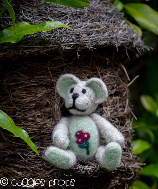 Cuggles & Luvs: Needle-Felting Projects!