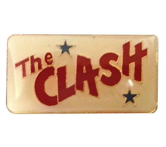 "vintage THE CLASH metal enamel pin button London Calling Combat Rock by VintageTrafficUSA  24.00 USD  Beautiful vintage The Clash pin. Dead stock from the 80s! Excellent condition. Measures: approx 1"" -------------------------------------------- SECOND ITEM SHIPS FREE IN USA!!! LOW SHIPPING OUTSIDE USA!! VISIT MY STORE FOR MORE ITEMS!!! http://ift.tt/1PTGYrG FOLLOW ME ON FACEBOOK FOR SALE CODES AND UPDATES! http://ift.tt/1P57awb OR FOLLOW ME ON TWITTER! https://twitter.com/VinTrafficUSA…"